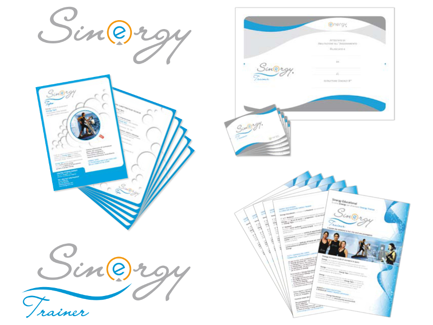 Energy - Sinergy trademark and brand identity