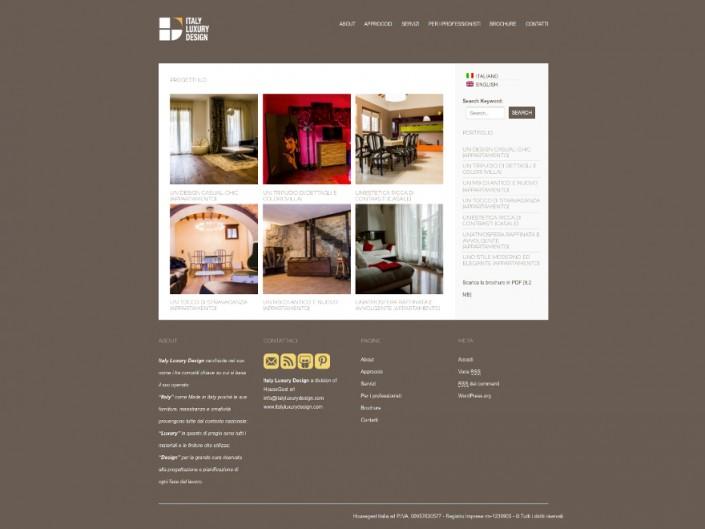 Italy Luxury Design - website