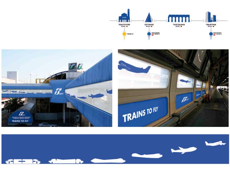 RFI - allestimento Fiumicino aeroporto