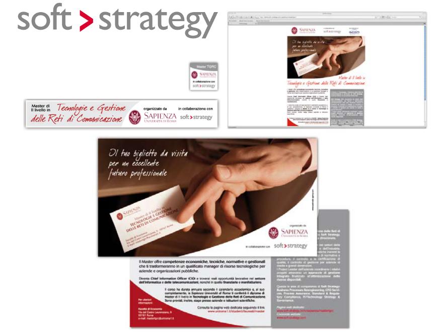 Soft Strategy - sponsorizzazione master