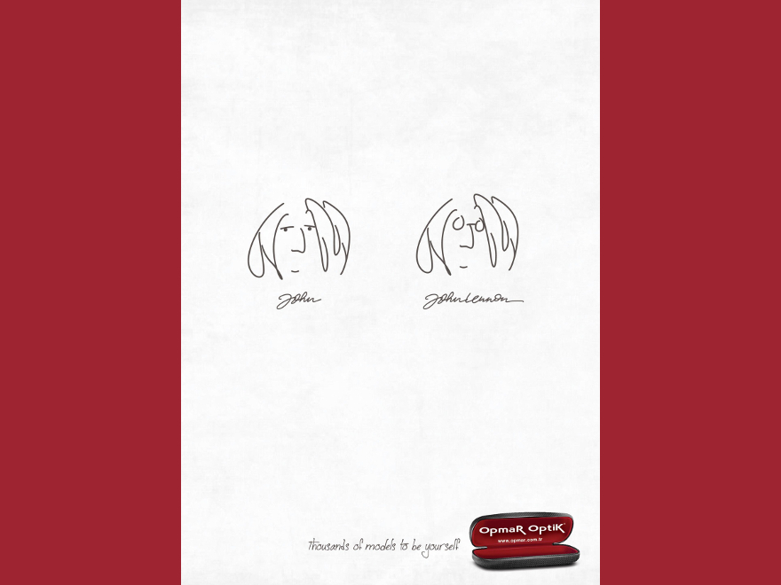 Opmar Optik - advertising campaign