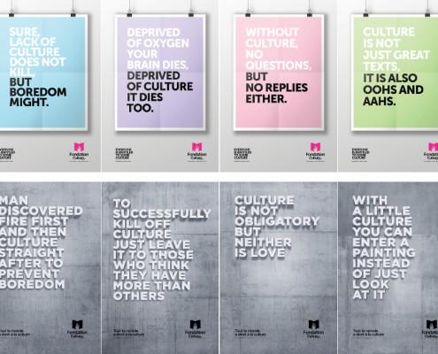 Fondation Cultura - awareness campaign