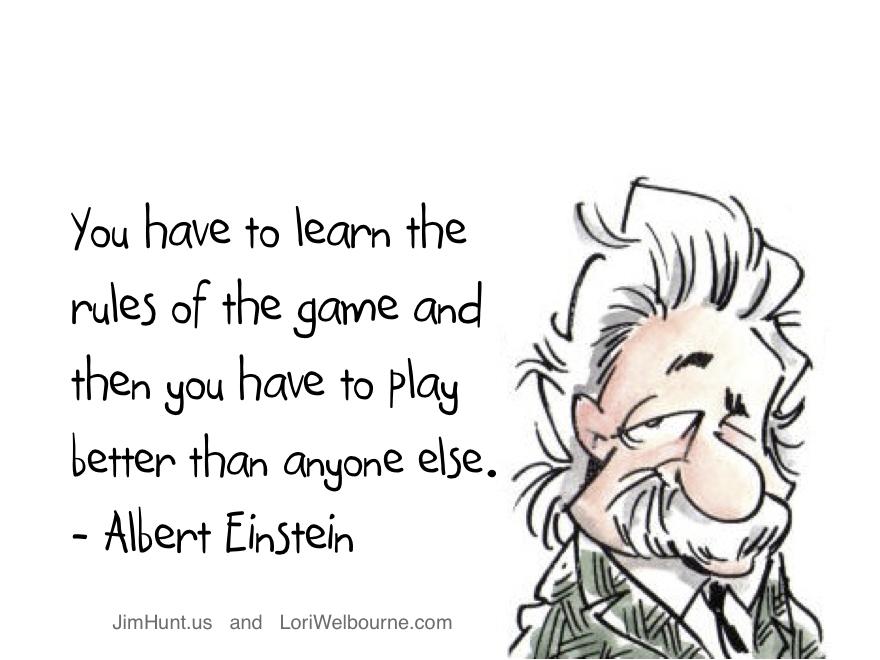 Competitive Advantage - Albert Einstein
