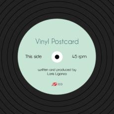 Vinyl Postcard - fronte