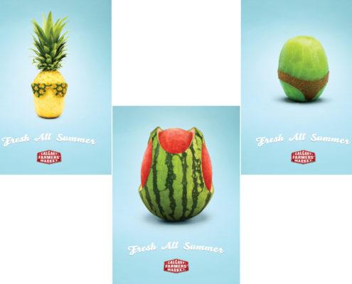 Calgary Farmers' Market - advertising campaign