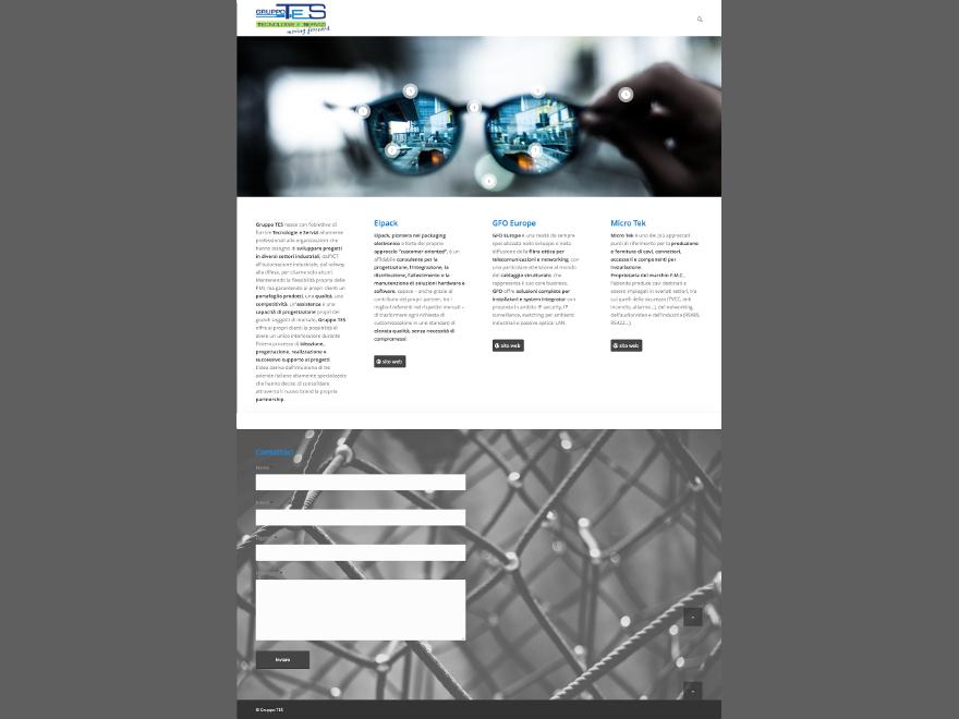 Gruppo TES - website