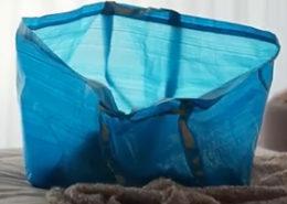 IKEA - blue bag