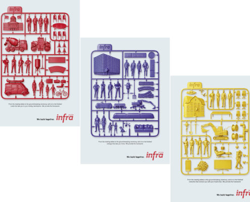 Infra Suisse - advertising campaign