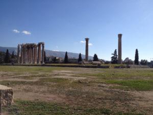 Atene - Tempio di Zeus Olimpio