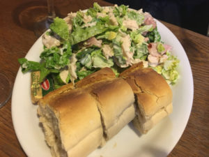 Belfast - Maggie Mays - Caesar salad
