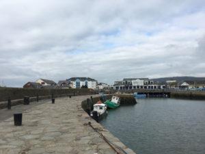 Belfast - McComb's tour - Carrickfergus Castle - panorama