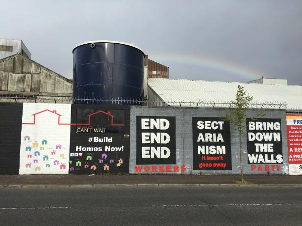 Belfast - street art