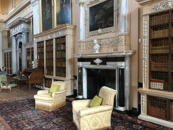 Woodstock - Blenheim Palace - biblioteca