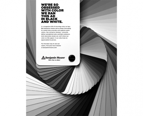 Benjamin Moore - advertising campaign
