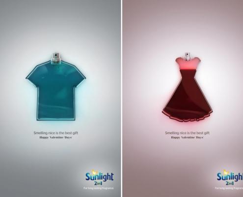 Sunlight - campagna pubblicitaria