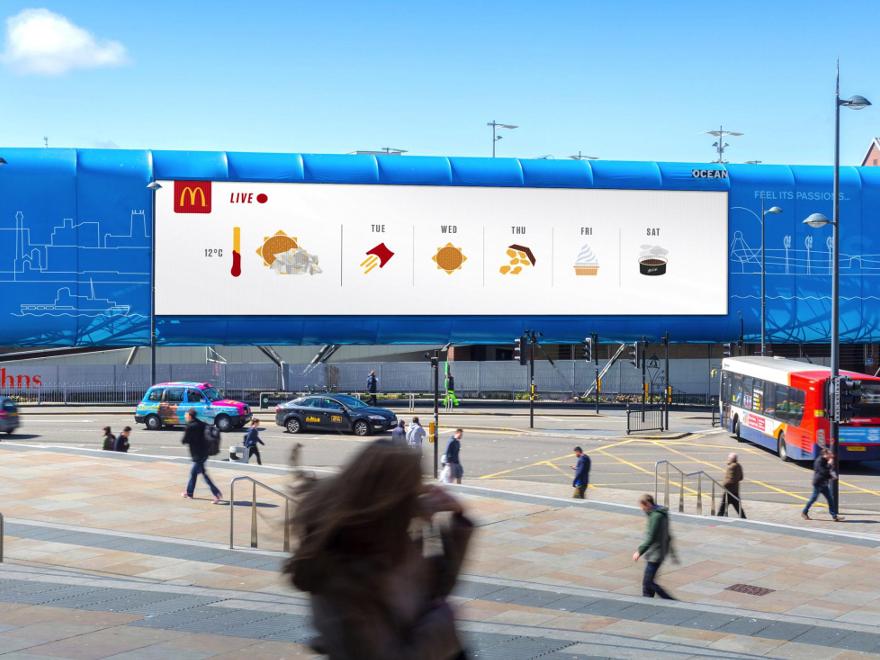 McDonald's - affissioni