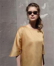 Asymétrie - blusa gialla