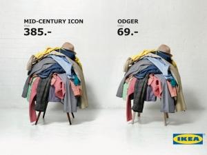 Ikea - campagna pubblicitaria vitra vs odger
