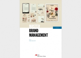 Master IED in Brand Management - brochure