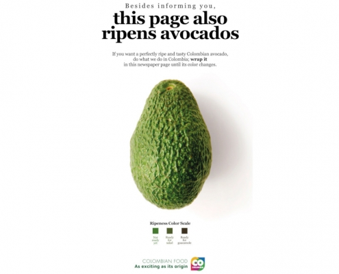 Colombian Food - campagna pubblicitaria