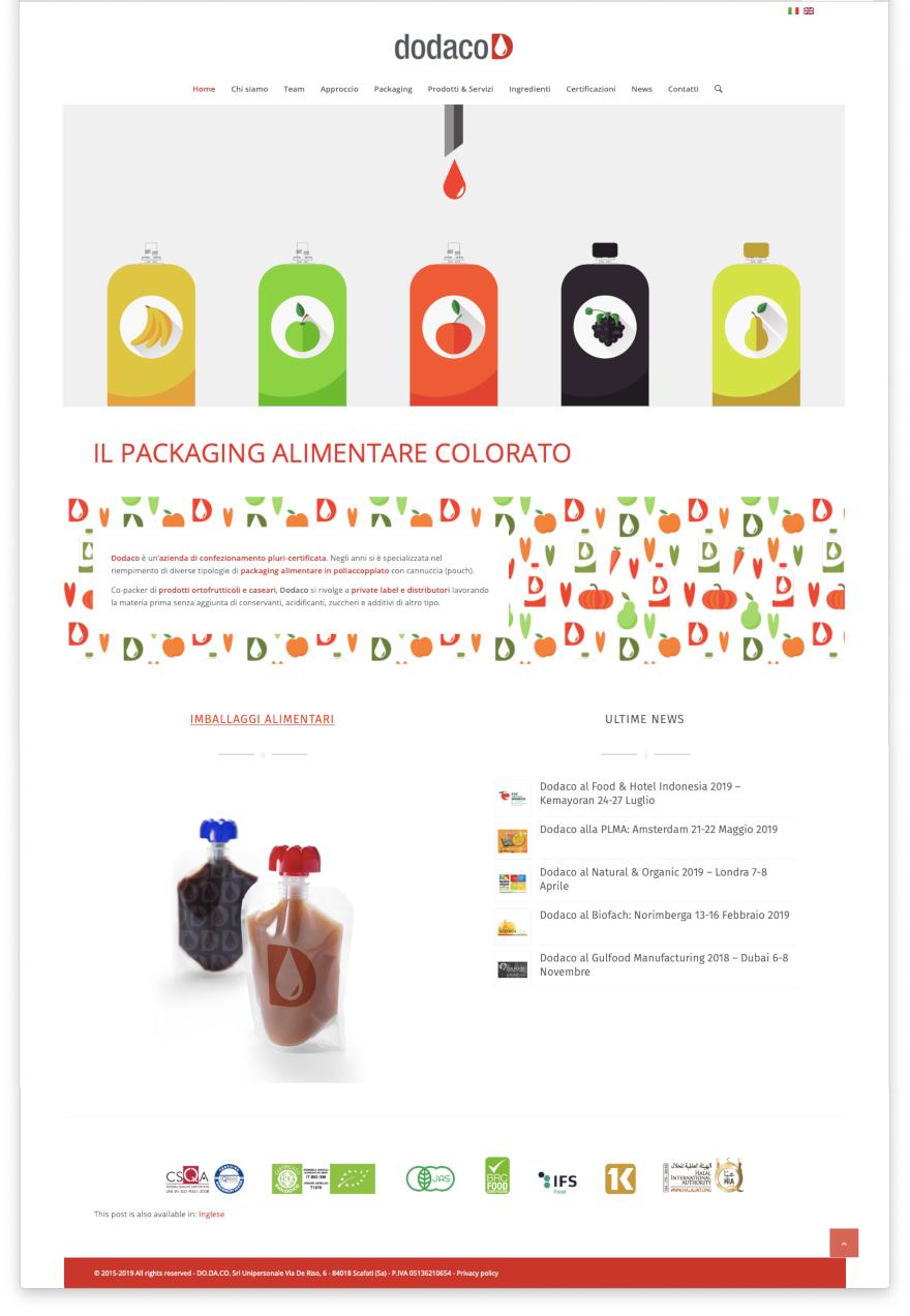 Dodaco - website