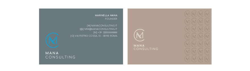 Mana Consulting - business card