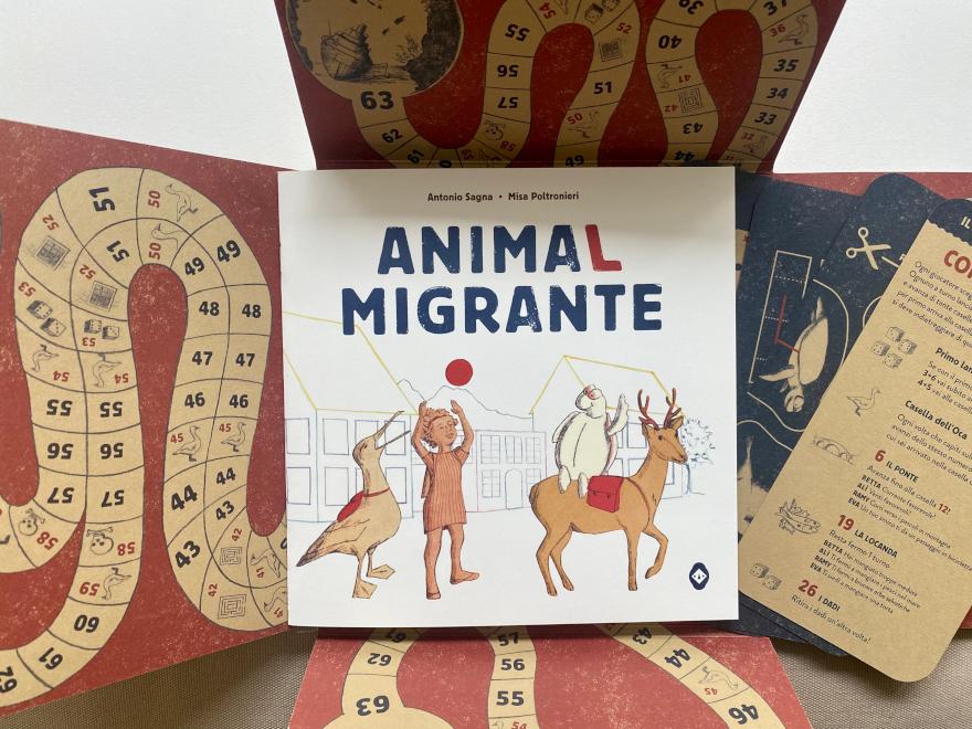 AnimaL migrante - copertina gioco